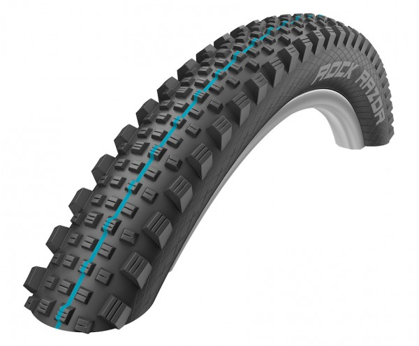SCHWALBE Fahrradreifen Rock Razor ADDIX HS 452 27,5 Zoll | ETRTO: 65-584 | Falt | SnakeSkin | ADDIX