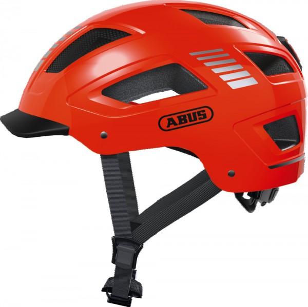 ABUS Fahrradhelm Fahrradhelm Hyban 2.0 Signal orange XL