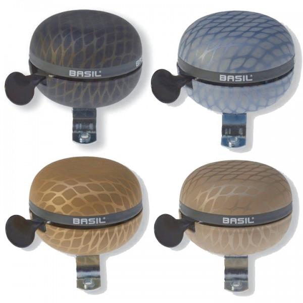BASIL Ding-Dong Glocke Noir schwarz metallic | Durchmesser: 60 mm