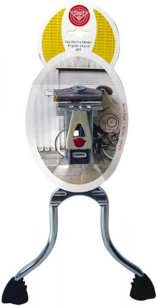 HEBIE Zweibeinständer REX s Für 24-29 Zoll | Höhe (max): 29 cm | silber