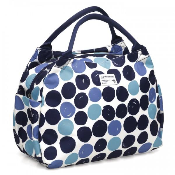 NEW LOOXS Handtasche Tosca Dots Befestigung: Haken   blau