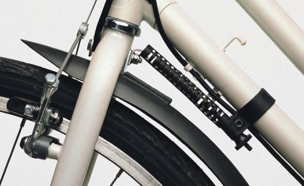 HEBIE Lenkungsdämpfer schwarz | Durchmesser: 28 - 32 mm | starre Gabel
