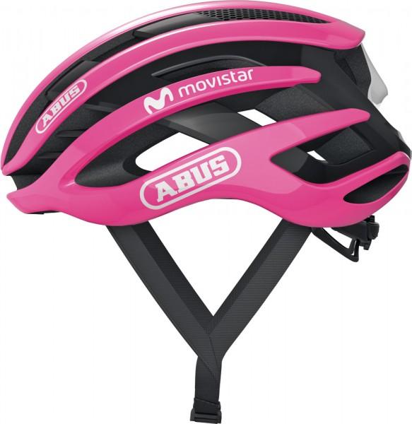 ABUS Fahrradhelm AirBreaker maglia rosa L