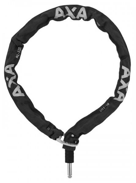 Fahrradschloss AXA Anschließkette RLC f. Defender u. Victory 100 cm, schwarz schwarz,100 cm
