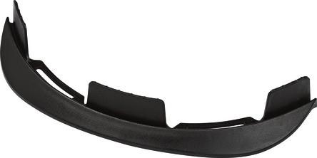 ABUS Fahrradhelm Ersatzschirm Scraper 2.0 schwarz