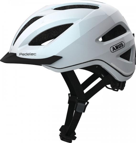 ABUS E-Bikehelm Pedelec 1.1 Größe: M | Kopfumfang: 52 - 57 cm | pearl white