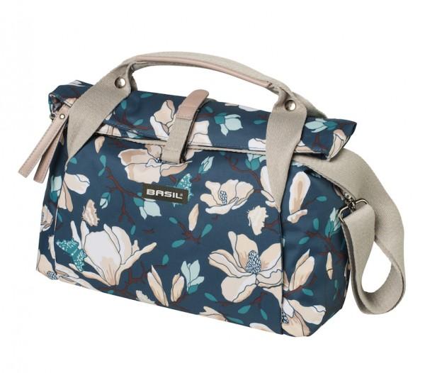 BASIL Lenkertasche Magnolia City Bag Befestigung: Klickfix / BasEasy   teal blue