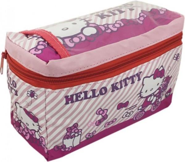 BIKE FASHION Lenkertasche Hello Kitty rosa | Für Kinderrad