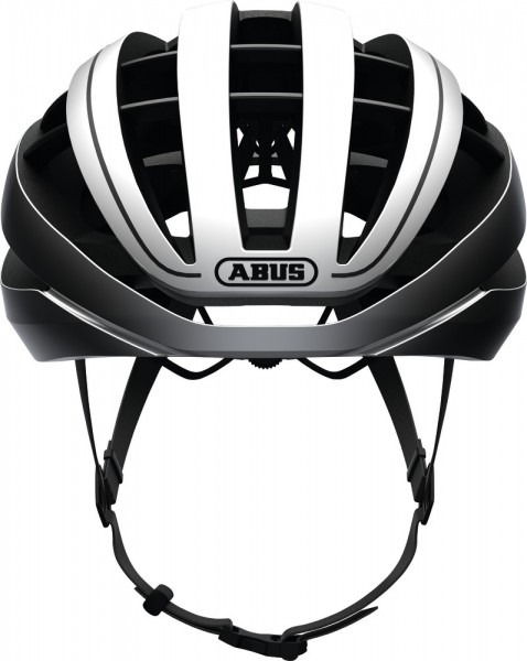 ABUS Fahrradhelm Aventor gleam silver M
