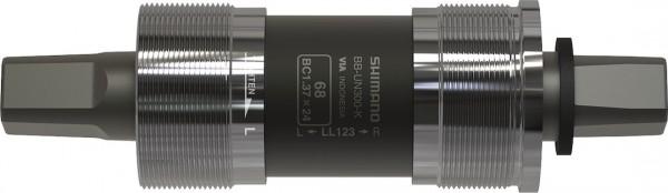 SHIMANO Innenlager BBUN300 Vierkant Gehäusebreite: 68 mm | Achslänge: 122,5 mm