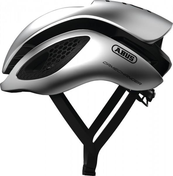 ABUS Fahrradhelm GameChanger gleam silver M