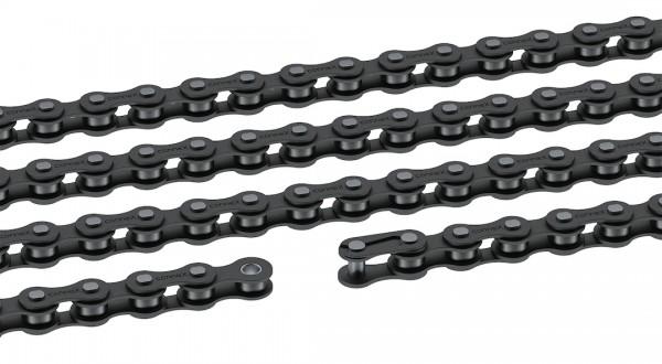 CONNEX Fahrrad Kette Rotstern 100 Kompatibilität: Nabenschaltung   SB-Verpackung   schwarz   112 Gli