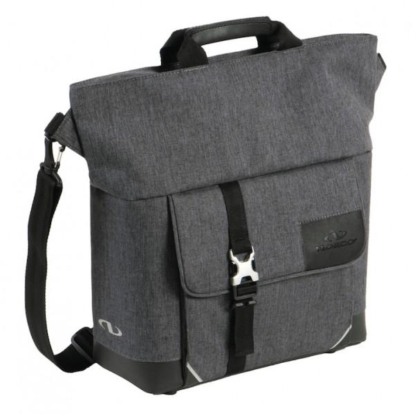 NORCO City Tasche Belford Befestigung: Klickfix, Haken | tweed grau