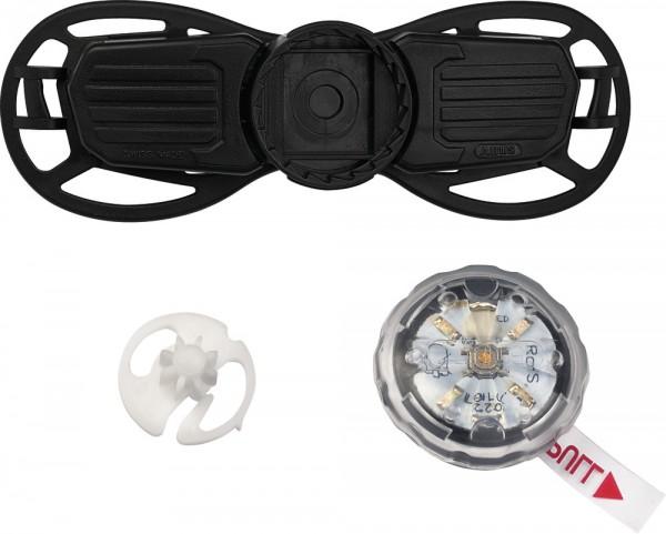 ABUS Fahrradhelm Verstellsystem Zoom Slim LED Kid