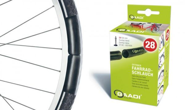 MITAS Fahrradschlauch SV Ventil 28 Zoll | ETRTO: 32/37-622/635 | SV | Ventillänge: 47 mm