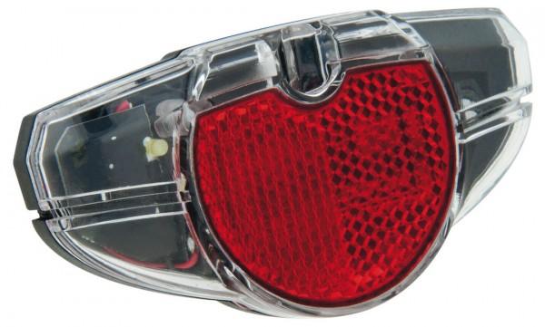 AXA LED Standrücklicht Spark Steady Befestigung: Gepäckträger | Doppelkontakt | SB-Verpackung | Bolz